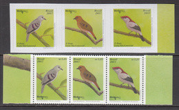 2017 Brazil Birds Complete  Complete Set Of 6 MNH - Unused Stamps