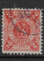 Privatpost Wuppertal, Guter Wert Der Ausgabe Der Privat-Brief-Verkehr-Gesellschaft  Von 1887 - Private