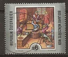 Autriche Austria 1994 Vienna Mint Obl - 1991-00 Oblitérés