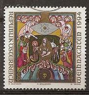 Autriche Austria 1994 Noel Christmas Obl - 1991-00 Oblitérés
