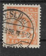 Privatpost Erfurt, Guter Wert Der Ausgabe Der Courier-Gesellschaft  Von 1896 - Private
