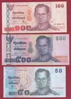 Thaïlande 6 Billets Dans L 'état (26) - Thailand