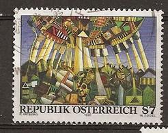 Autriche Austria 1996 Painting Power Station Obl - 1991-00 Oblitérés