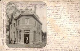 België - Capellen Kapellen ? St Mariaburg ?  - Cafe Du Cycle - 1904 - Non Classés