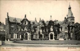 België - Schooten - Kasteel Calixbergen - 1908 - Unclassified
