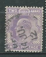 Inde Anglaise   - Yvert N° 60  Oblitéré       Au  11818 - 1902-11 King Edward VII