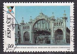1996-ED. 3444-COMPLETA-ESTRUCTURAS METÁLICAS. MERCADO DE LANUZA. ZARAGOZA-USADO - 1991-00 Usati