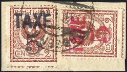 Piece 1918/19, Bolzano 3, BZ3/75+76, Sass. 365,- - Trentino