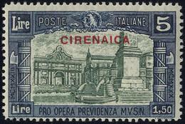 * 1930, Milizia III, 4 Valori (Sass.68-71/ 320€,-) - Cirenaica