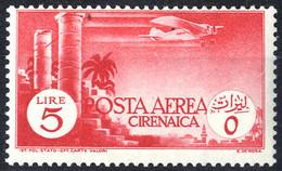 * 1932, Posta Aerea, 6 Val. (S. A6-11 / 90,-) - Cirenaica