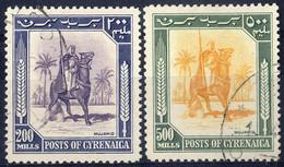 O 1950, Amministrazione Autonoma, 13 Val. (S. 1-13 / 320,-) - Cirenaica
