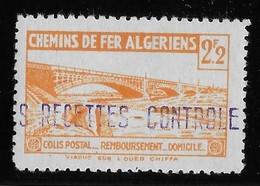 Algérie Colis Postaux N°104 (réf. Dallay) - Neuf * Avec Charnière - TB - Parcel Post