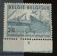 Exportations. Bateau Et Transports.  Pl.2 **. Un Timbre Sur 75 Ex. - ....-1960