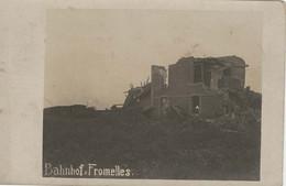 Fromelles Carte Photo Allemande 14 18 - Banhof (gare) - Altri Comuni