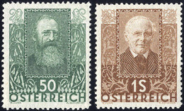 ** 1931, Poeti, 6 Val. (Mi. 524-29 / Unif. 399-404 / 250,-) - Zonder Classificatie