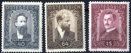 ** 1932, Maler, Sechs Werte, Postfrisch (ANK 545-50 / 360,-) - Zonder Classificatie