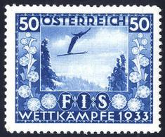 * 1933, FIS I, 4 Val. (Mi. 551-54 / Unif. 426-29 / 310,-) - Zonder Classificatie