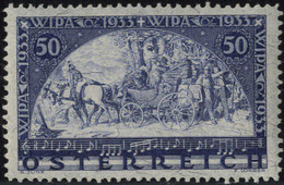 ** 1933, WIPA, 50+50 Gr., Carta Con Fili Di Seta, Firm. Caffaz (ANK 556 / 750,-) - Zonder Classificatie