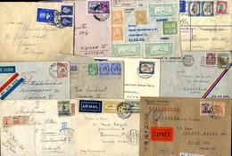 Cover 1934, 10 Briefe Aus Übersee Nach Wien, Dazu Brief Aus Holland Mit Inhalt Briefausschnitte, Alle Bilder Im Online-K - Zonder Classificatie