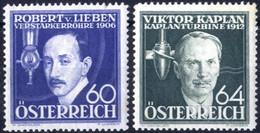 ** 1936, Erfinder, Sechs Werte, Postfrisch (ANK 632-37 / 72,-) - Zonder Classificatie