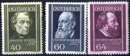 ** 1937, Ärzte, Neun Werte, Postfrisch (ANK 649-57 / 75,-) - Zonder Classificatie