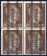 **/bof 1945, 3 Pfg., Grazer Aufdruck, Geriffelter Gummi, ANK 675 Cx / 400,- - Zonder Classificatie