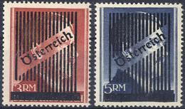 ** 1945, 3. Wiener Aushifsausgabe, Kompletter Satz 11 Werte, Befund Glavanovitz (ANK 668-(12)) - Zonder Classificatie