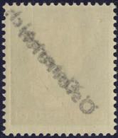 ** 1945, 5 (Pfg.) Grasgrün, Doppelter Aufdruck Wovon Einer Blind, Abklatsch, Attest Glavanovitz, ANK 660D(D) / 120,- - Zonder Classificatie