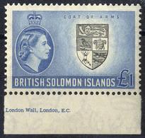 ** 1956, Serie 17 Werte, Mi. 81-97 / 110,- - British Solomon Islands (...-1978)
