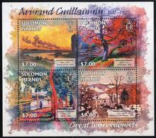 ** 2013, Complete Set Paintures, 94 Pieces In 24 Sheets And 24 Blocs, Mi. 1681-1799 + Bl. 130-153 / 516,- - British Solomon Islands (...-1978)