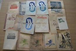Stalag XI Reflets Lot De 15 Revues Internes Du Camp KDO 893 Dont Spécial Noël 1942 - Documenti