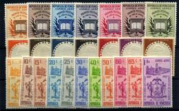 Venezuela (aéreos) Nº 606/19, 664/74. Año 1956/8 - Venezuela