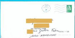 Marque De Tri TL0101/125 + Nom De Rue Ajouté Par La Poste Neopost 24856A Marianne L'engagée - Mechanical Postmarks (Other)