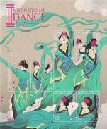 2016 UNO NEW YORK  Mi.Bl 44+ 45 **MNH Welttanztag   Chinesischer Tanz /  Thailändischer Tanz - Blocks & Kleinbögen