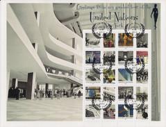 2012 UNO NEW YORK   MI. 1284-93  Used UNO-Besichtigungstour - Blocks & Kleinbögen