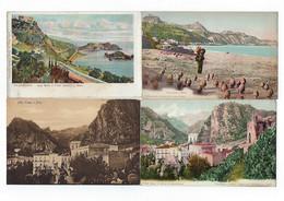 ITALIE - 4 CARTES - TAORMINA - - Messina