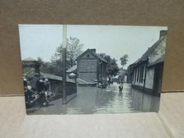 BRUAY (62) Carte Photo Inondations Rue Animation - Otros Municipios
