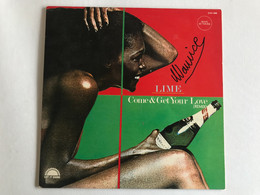 LIME - Come & Get Your Love - MAXI 45t - 1982 - FRENCH Press - Disco, Pop