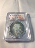 Monnaie Chine 1 Yuan Argent- L'époque Yuan Shih-Kai Argent Année 1919 - China