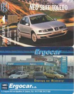 GREECE - Seat Toledo 10, Tirage 39000, 03/99, Used - Automobili