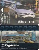 GREECE - Seat Toledo 6, Tirage 39000, 03/99, Used - Automobili