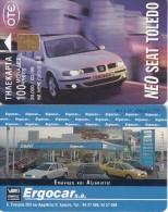 GREECE - Seat Toledo 3, Tirage 39000, 03/99, Used - Automobili