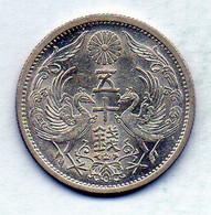 JAPAN, 50 Sen, Silver, Year 12 (1937), KM #50 - Japan