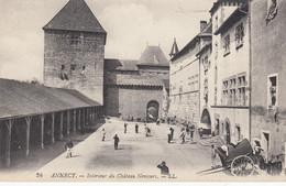 74 - Annecy - Beau Cliché Animé De L'Intérieur Du Château Nemours - ( Pub Au Dos - Union Des Manufactures ) - Annecy