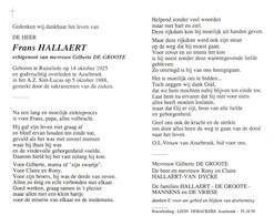 Frans Hallaert (1925-1988) - Imágenes Religiosas