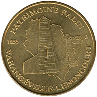 54-1053 - JETON TOURISTIQUE MDP - Varangéville-Lenoncourt - 2010.2 - 2010