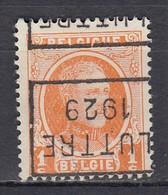 4520 Voorafstempeling Op Nr 190 - LUTTRE 1929 - Positie D - Rollo De Sellos 1920-29