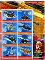 Kurdistan 2010 Concorde, Jaguar, Space Shuttle, Northrop F-18 Hornet,  Sukhoi Su-27 Flanker, SAAB 37 Viggen - Airplanes