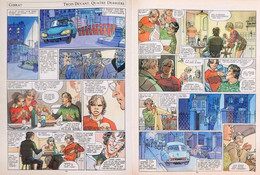 5 Pages BD GIBRAT CITROËN DS 1983 PILB P1059437 - Ohne Zuordnung