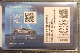 Croatia, 2021, Crypto Stamp Rimac Nevera (MNH) - Croatia
